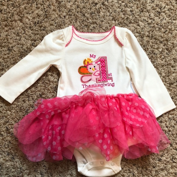 7b39bb21b4fb Koala Kids One Pieces | Baby Girls First Thanksgiving Outfit | Poshmark